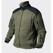 LIBERTY JACKET - DOUBLE FLEECE - OLIVE GREEN - BL-LIB-HF-16