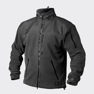 CLASSIC ARMY JACKET - FLEECE WINDBLOCKER - BLACK - BL-CAF-FL-01