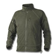 ALPHA TACTICAL JACKET - GRID FLEECE - OLIVE GREEN - BL-ALT-FG-02