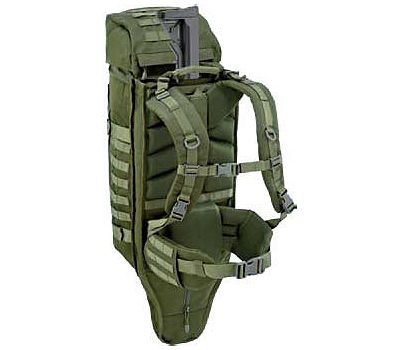Defcon 5 Backpack with Integrated Gun Holster - OD Green 45L - D5-S2010-OD εικόνα 2