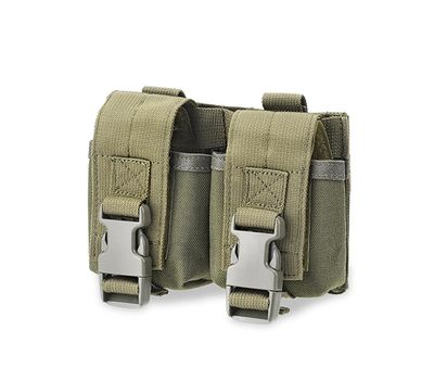 Defcon 5 double grenade pouch - OD Green - D5-GP02-OD